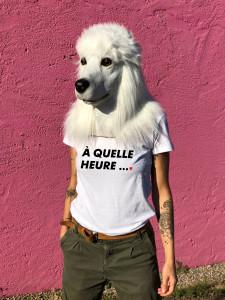 T-SHIRT A QUELLE HEURE (FEMME)