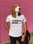 T-SHIRT A QUELLE HEURE (HOMME)