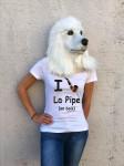 T-SHIRT I LOVE LA PIPE (FEMME)
