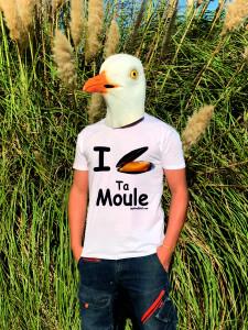 T-SHIRT I LOVE TA MOULE (HOMME)