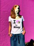 T-SHIRT I LOVE TON MINOU (FEMME)