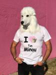 T-SHIRT I LOVE TON MINOU (HOMME)